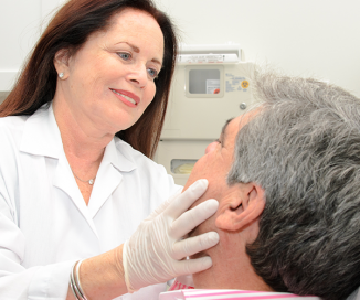 photo of doctor injecting Botox, Dysport & Xeomin