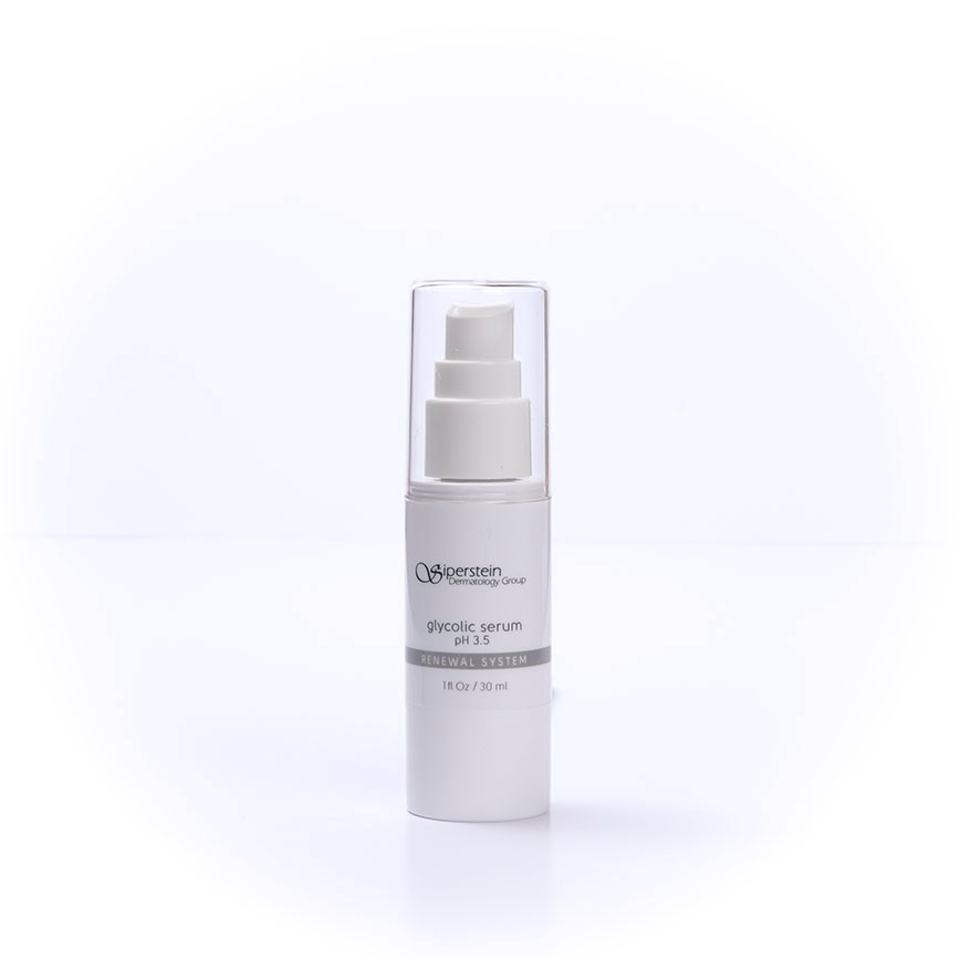 skin care products - glycolic serum