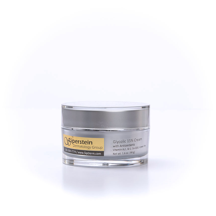 skin care products - glycolic cream