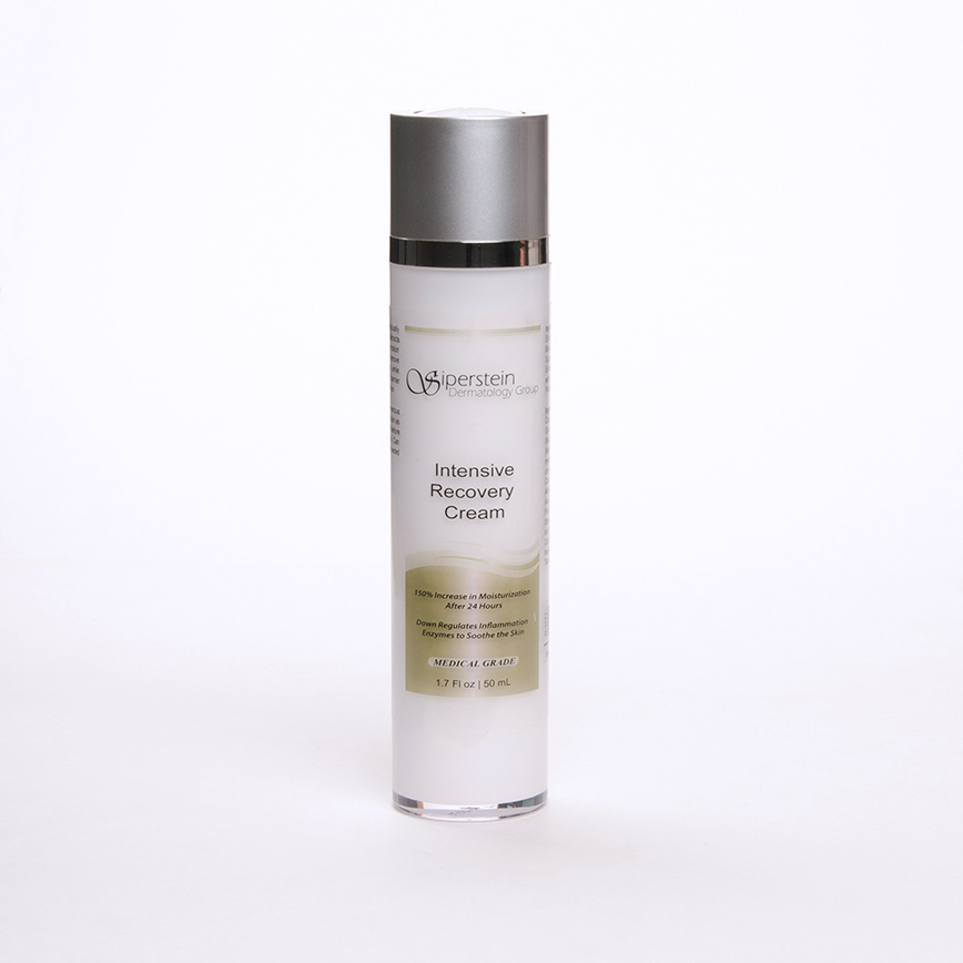 skin care products - intensive recovery cream