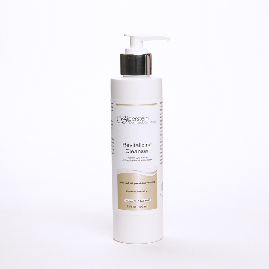 skin care products - revitalizing cleanser