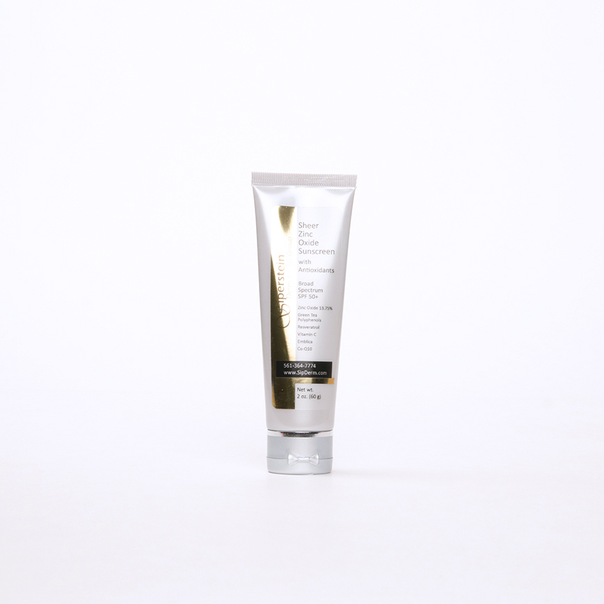 skin care products - sheer zinc oxide sunscreen