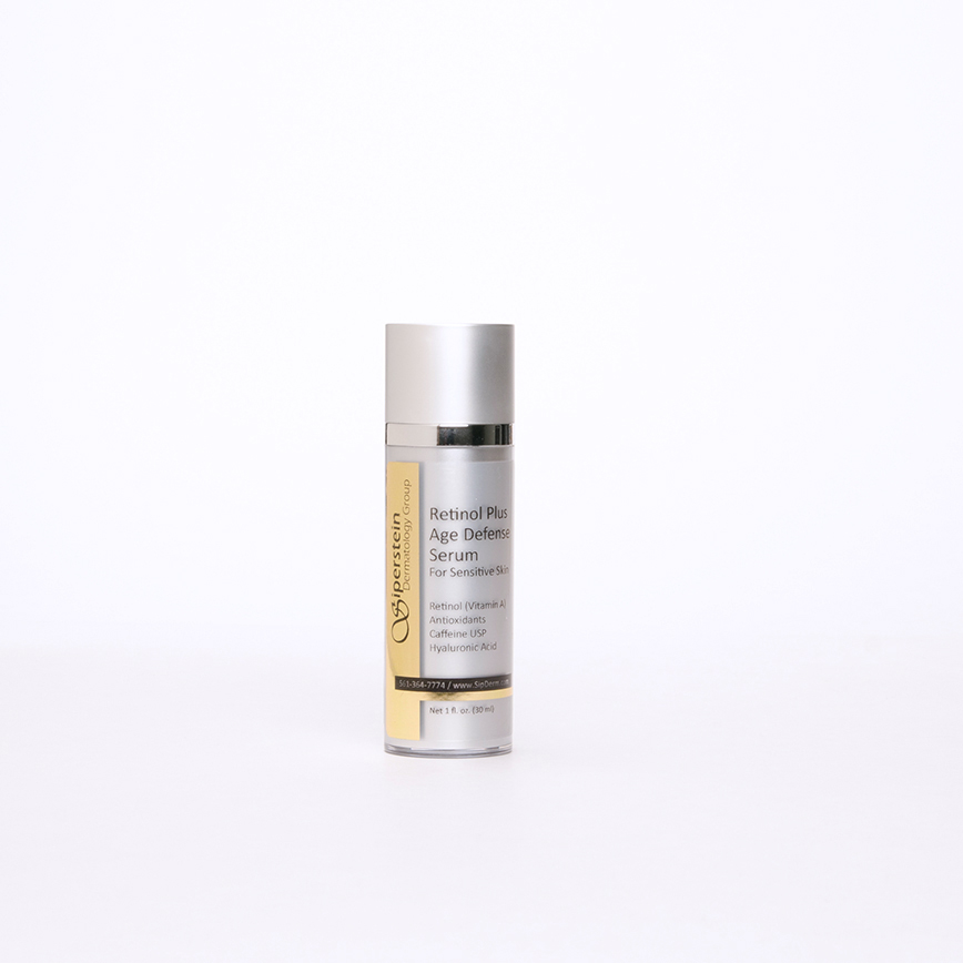 skin care products - retinol plus age defense serum