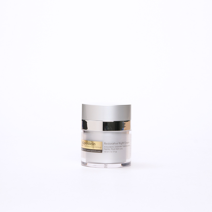 skin care products - restorative night cream