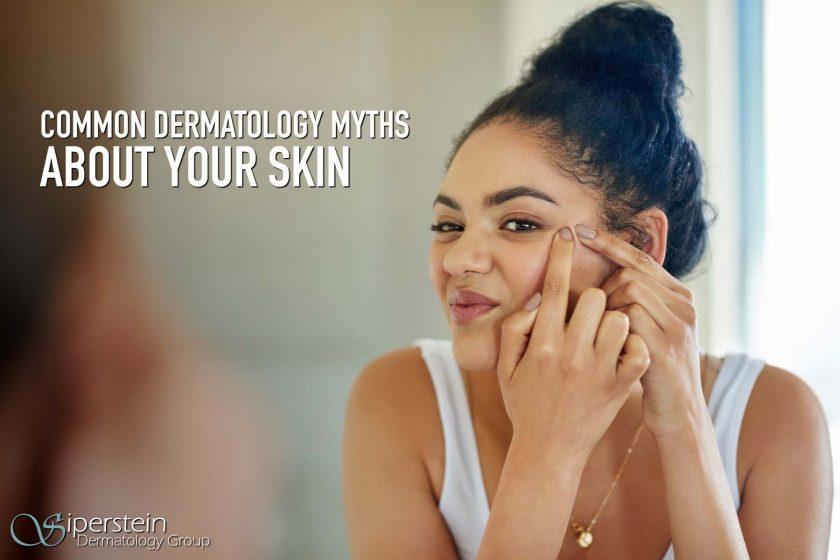 Dermatology Myths