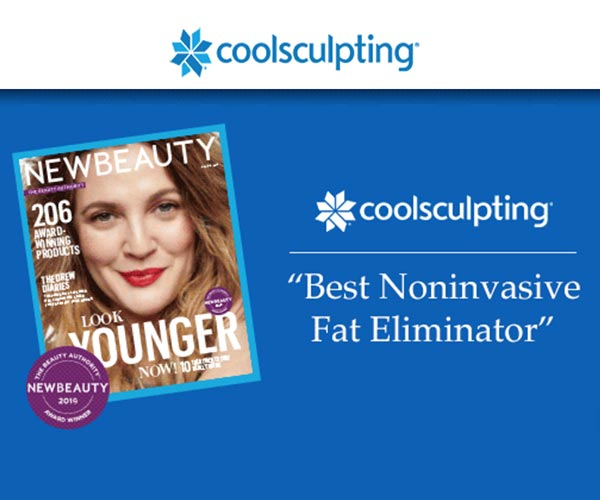 COOLSCULPTING NOMINATED BEST FAT ELIMINATOR